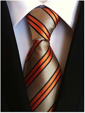 Gazebo Green Modern Striped Skinny Necktie - Choose Your Color