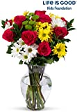 Benchmark Bouquets Life is Good Flowers Hot