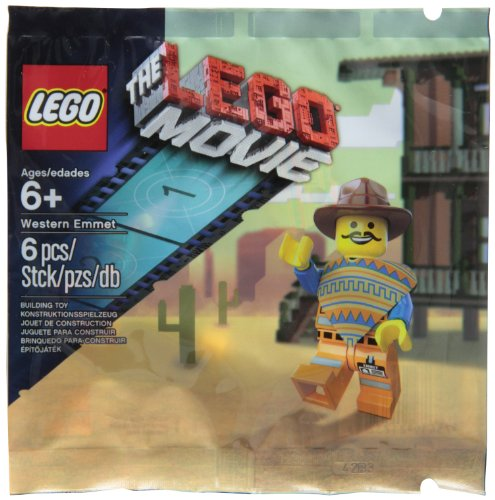 Lego Western Emmet The Lego Movie Exclus