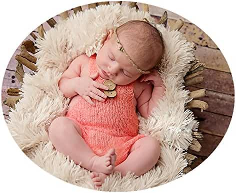 Luxury Fashion Unisex Newborn Baby Girl Boy Outfits Photography Props Rompers
