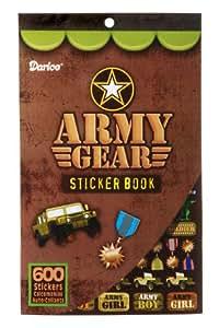 WGI Army Gear Sticker Book (Pack of 4)