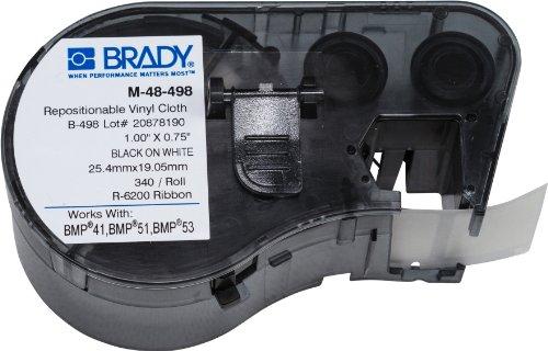 Brady M-48-498 Labels for BMP53/BMP51 Printers by Brady