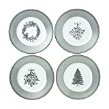 Wedgwood 40032848 Winter White Salad Plate, Set Of 4 8