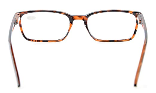 Eyekepper Occhiali da lettura uomo donna Retro cardine a molla Tortoiseshell-Clear +1.75 pmjUZ