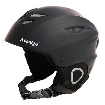 Avanigo - Casco de esquí, Casco para deportes de invierno, talla L