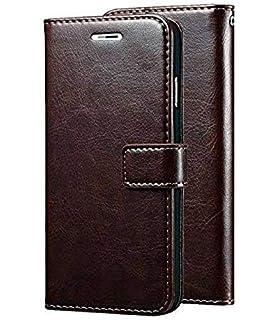 detailed look ea274 f0d57 Bracevor iPhone 5 5s SE Wallet Leather Stand Case Flip: Amazon.in ...