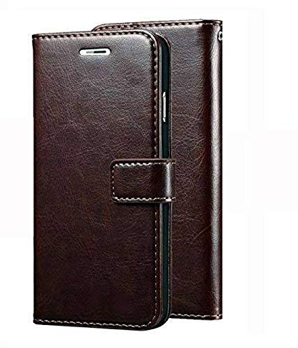superior leather wallet Flip Cover book cover case for samsung galaxy s7 edge   coffee