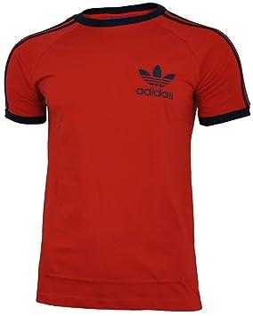 adidas Sport ESS Tee Trefoil Camiseta Hombre T-Shirt Originals Retro Rojo: Amazon.es: Deportes y aire libre