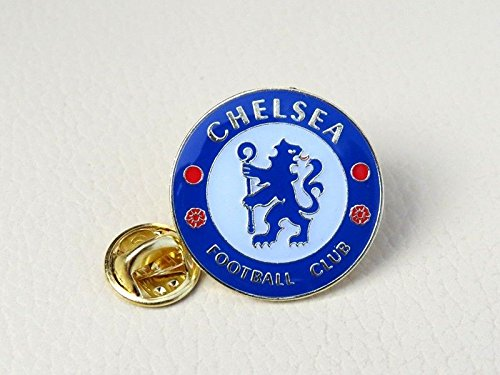 CHELSEA FC SOCCER FOOTBALL BADGE / EMBLEM / LOGO PIN BUTTON (Badge Chelsea Football)