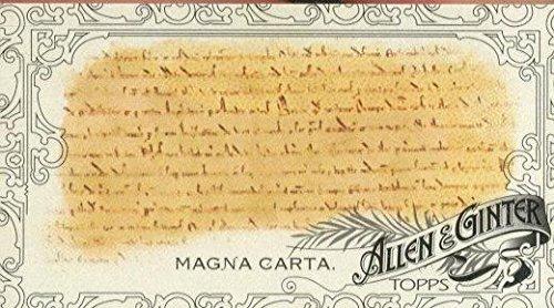 Black Sports Magna (2015 Topps Allen and Ginter Mini Black #297 Magna Carta - NM-MT)