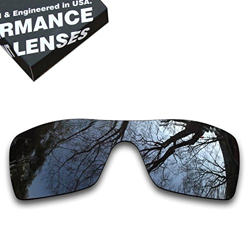 ToughAsNails Polarized Lens Replacement for Oakley Batwolf Sunglass - More Options by ToughAsNails