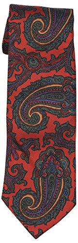 Polo Ralph Lauren Men's Paisley Neck Tie-Red Paisley-O/S
