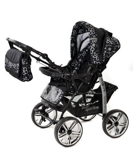 Baby sportive   passeggino 3 in 1 da viaggio con seggiolino auto e ...