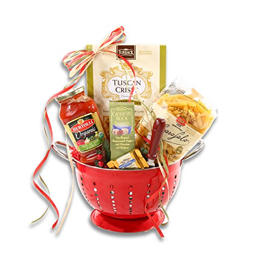Pasta Delights Gourmet Italian Food Gift Basket | Christmas Gift for the Family