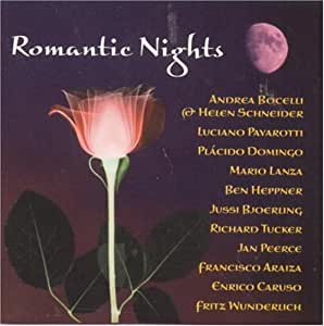 Romantic Nights - The Ultimate Love Songs Collection.