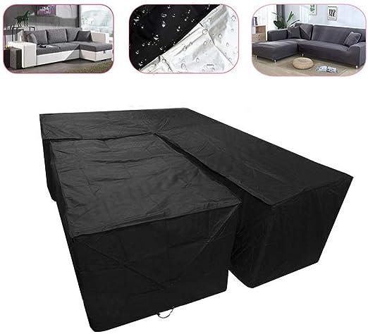 ZGQ Funda de Sofa Elastica Universal, Cubierta de Sofá rinconera Ajustable, Couch Cover Mascotas Cubierta Muebles de jardín, colchas Esquina Resistente al Agua,Square (155 * 95 * 68cm): Amazon.es: Hogar