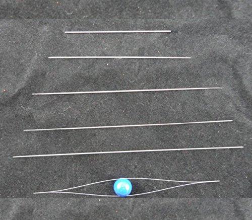 CHENGYIDA BEADING NEEDLES WIDE EYE 6 ASSORTED SIZES ,JEWELRY MAKING - 4cm,6cm,7.5cm,10cm,11.5cm,12.5cm by CHENGYIDA