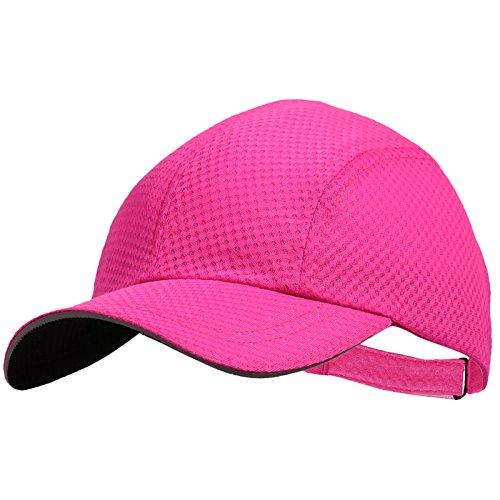 TrailHeads Women's Race Day Cap-Performance Hat - pink - Hat Pink Running