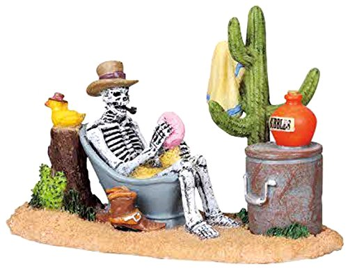 Lemax 82467 Rub-A-Dub-A-Cowboy Spooky Town Figure Village Halloween Figurine O G Scale Retired]()