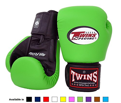 Twins Boxing Gloves 10oz Yellow - 4