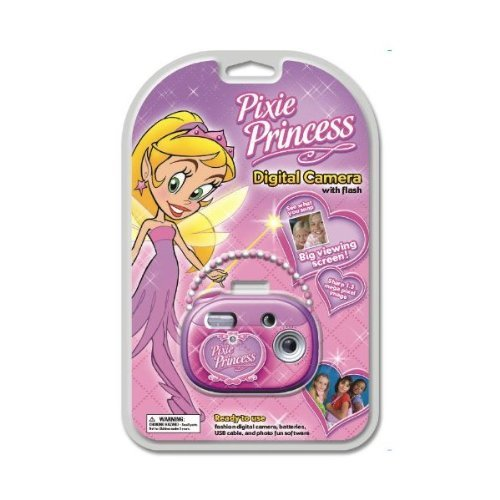 (Global 3MP Digital Camera with Flash Pixie Princess)