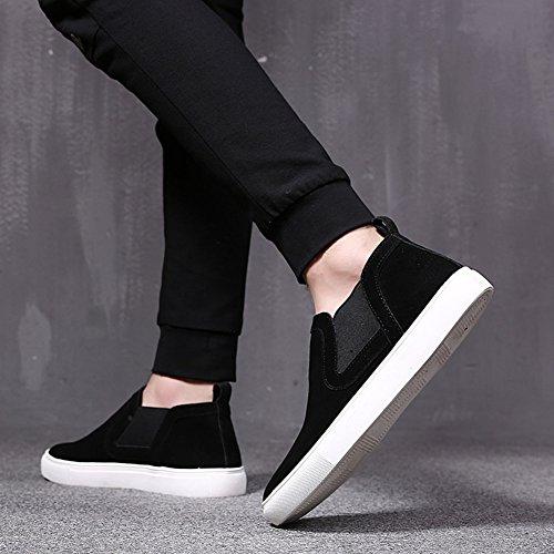 L'extérieur Couleur Chaussures Confortable Toile Respirant 5 T 2 EU39 QIDI T Décontractées 1 Noir Chaussures Homme À Antidérapant UK6 De Taille Axw7q1