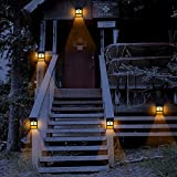 Solar Deck Lights, Led Outdoor Garden Decorative