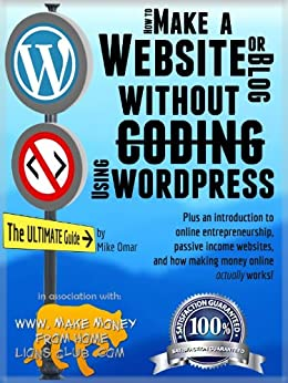 How to make a website or blog with wordpress without for Build your own home website