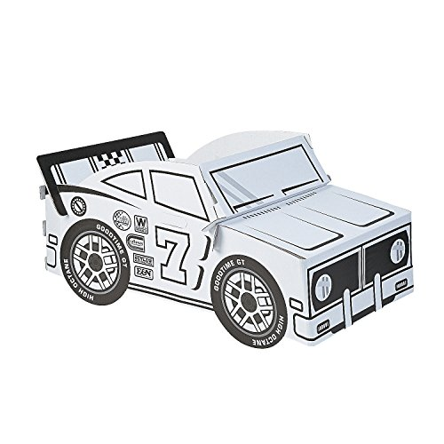 Box Car Costume (Color Your Own Race Car Box)