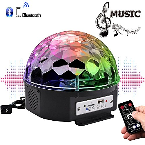 Crystal Magic Ball Led Light in US - 4