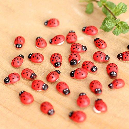 A Bug's Life Costume Ideas (Lucrative shop 10 Pcs/Lot Stylish Mini Ladybug Decoration Lovely Beatles Micro Landscape Gardening)