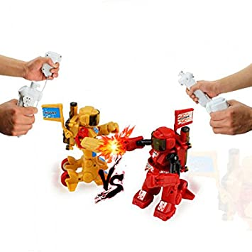 Combate de Robots Rc   8cm   Mandos tipo Wii para Luchar