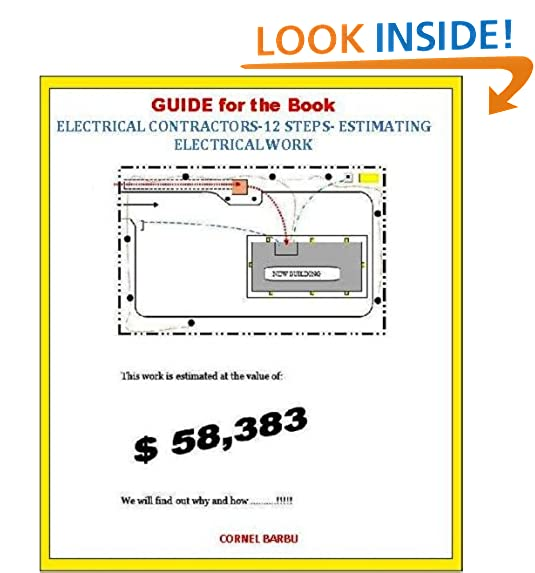 Electrical contractor amazon guide for the book electrical contractors 12 steps estimating electrical work fandeluxe Image collections