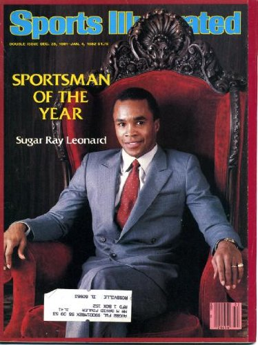 Sports Illustrated December 28 1981 Sugar Ray Leonard on Cover (Sportsman of the Year), New York Jets & Giants in Playoffs, Tracy Austin/Tennis, Walt Spitzmller/Rodeo Paintings, Homer Jordan/Clemson in Orange Bowl, Bird Watchers by George Plimpton - 1981 Orange Bowl