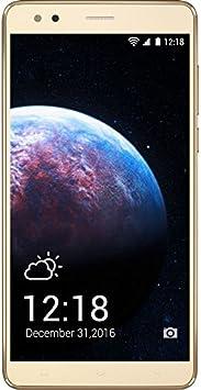 InnJoo Teléfono móvil halo x Libre Oro: Amazon.es: Electrónica