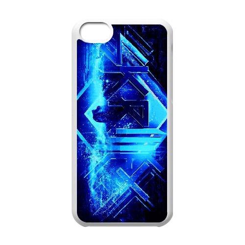 US73 Skrillex P7P3PD iPhone 5c Handy-Fall Hülle weißen DM3PWF7ME decken