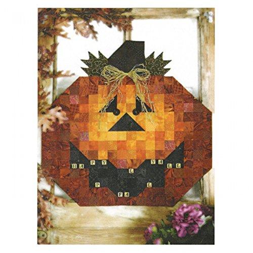 Halloween Quilt Kits (Scrabble Jack Happy Hollow Table Topper Pattern Halloween Jack O Lantern)
