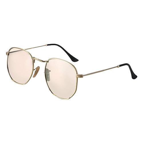 Aron Cent polarizadas Gafas de Sol Retro Ultraligera Gafas ...