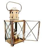 Vintage Brass Nautical Maritime Hanging Ship Lantern~Ship Boat Cargo Oil Lamp