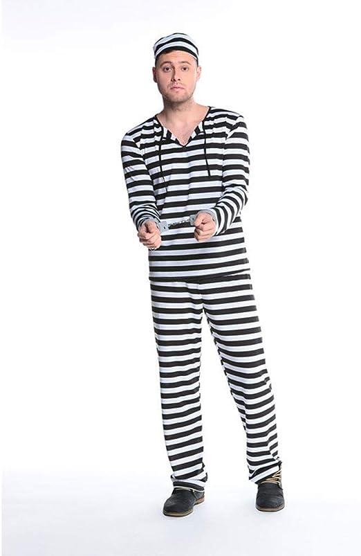 LPP - Disfraz de Pareja de Halloween, Disfraz de Prigioniero, par ...
