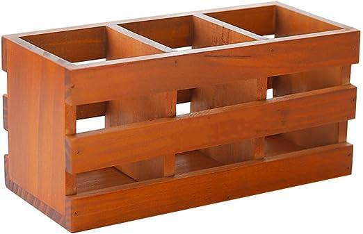 Caja de madera antigua simple, multifuncional y duradera, caja de ...