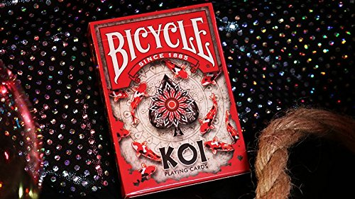 - Koi Fish Bicycle Playing Cards Poker Size Deck USPCC Custom Limited Edition