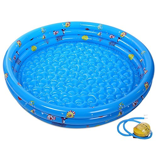 Swimming Inflatable Pool Portable Outdoor Children Basin Bathtub with Pump AUS