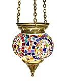 Turkish Glass Mosaic Lantern (Small)-12