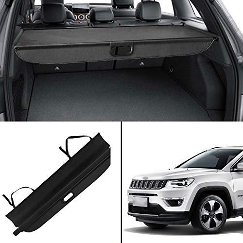 (Autoxrun Cargo Cover Rear Retractable Security Shield Fits 2016 Jeep Compass)