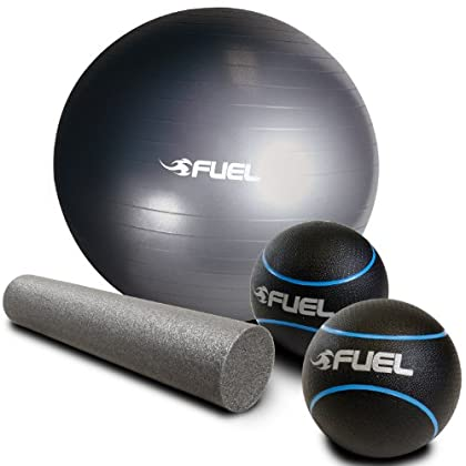 Image of CAP Barbell Fuel Performance Core Training Set Exercise Balls