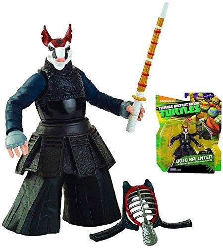 "Dojo Splinter Honorable Sensei Teenage Mutant Ninja Turtles Action Figure 4.5"""