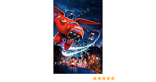 Disney Classics Big Hero 6 Poster Glossy Finish Posters USA DISN026