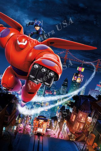 Poster USA - Disney Classics Big Hero 6 Poster GLOSSY FINISH - DISN026 (24
