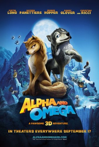 ALPHA AND OMEGA (2010) Imaginative Authentic Movie Poster 27x40 - Double - Sided - Hayden Panettiere - Justin Long - Dennis Hopper - Christina Ricci